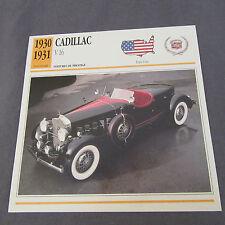 489C Edito Servizio Spina Opuscolo Cadillac V16