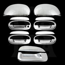 For FORD F150 1997-02 2003 Chrome Covers Set Mirror Cap 4 Door Handles Tailgate