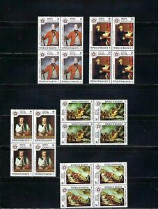 AMERICAN BICENTENNIAL YEAR 1976  BKLT OF 4   MNH  MALDIVES