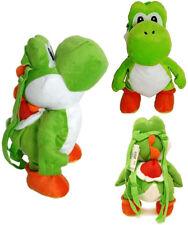 "Yoshi 18"" Plush Backpack Super Mario Bros Stuffed Plush Doll"