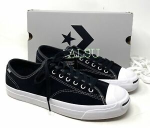 Converse Jack Purcell Pro Suede Low Black Men's Sneakers 159508C