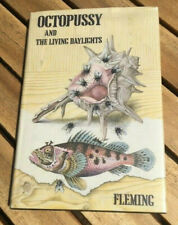 OCTOPUSSY  Ian Fleming Jonathan Cape first edition w/dust jacket
