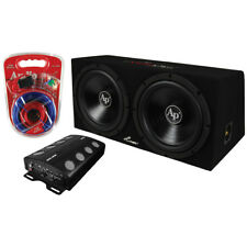 Audiopipe APSB1250CL 2000W Super Bass Combo Package w/Woofer, Amplifer, Box