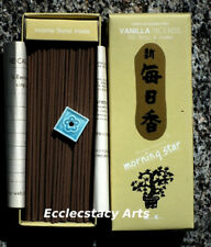 Nippon Kodo Morning Star Vanilla Incense 200 Sticks NEW Japanese Incense {:-)