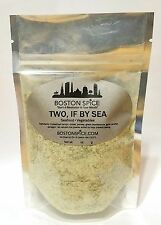 BOSTON SPICE TWO IF BY SEA LEMON SEAFOOD FISH SHRIMP SCALLOPS SEASONING 1/2 CUP