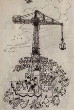 Zimnik, Reiner. Der Kran. Eine Bildergeschichte. Dressler. EA 1956
