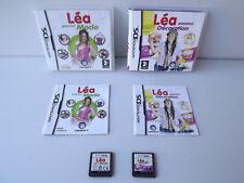 Lot de 2 jeux DS Léa passion mode et décoration