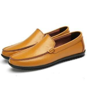 Classic Mens Slip On Smart Loafers Driving Gommino Moccasins Casual Boat Shoes