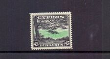 CYPRUS 1934 GV 45pi GREEN & GREEN SG143 LMM CAT £120