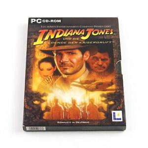 Indiana Jones und die Legende der Kaisergruft - PC CD-ROM - Deutsch - Digibook
