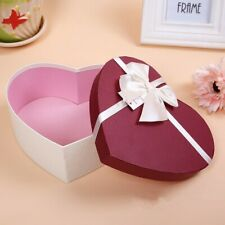 3Pcs Composite Material Heart Shaped Gift Box Packaging Boxes Birthday Gift New