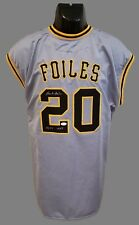 Pittsburgh Pirates, Hank Foiles custom Pro Style Jersey w/JSA