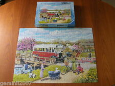 RAVENSBURGER PUZZLE The Old Swing Bridge - 1000 Piece Jigsaw - Complete - VGC