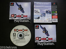 JEU Sony PLAYSTATION PS1 / PS2 : MTV SPORTS PURE RIDE (Tdk COMPLET envoi suivi)