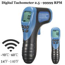 Laser digitale contagiri motore Foto Tachimetro 2.5 - 99999 RPM Motor Speed Test
