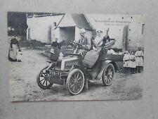 CPA voiture ancienne excursion en normandie