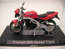 IXO ALTAYA TRIUMPH 955i SPEED TRIPLE motocicleta roja 1:24 MOTO