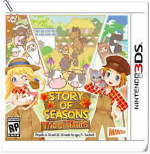 3DS Story of Seasons: Trio of Towns Nintendo Xseed Games Simulation