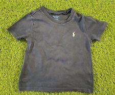 Ralph LAUREN Bebé Niño Azul Camiseta de la edad de 18 meses