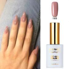 RS Nail 165 Gel Nail Polish UV LED Sequined Varnish Soak Off  Cute Colour 15ml