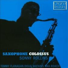 SONNY ROLLINS - SAXOPHONE COLOSSUS USED - VERY GOOD CD
