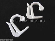 30 Integra tour de lit rail crochets pour rail rideau lambrequins - Code 07095