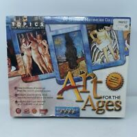 Vintage Software Art for the Ages 4 CD Set Topics CD-ROM Windows 95 New
