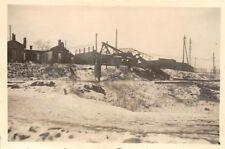 Orig. Foto Wehrmacht Soldat am Eisenbahnschienen bei Warschau Polen Ostfeldzug