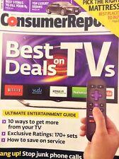 Consumer Reports Magazine Best Deals On TVs March 2014 032818nonrh
