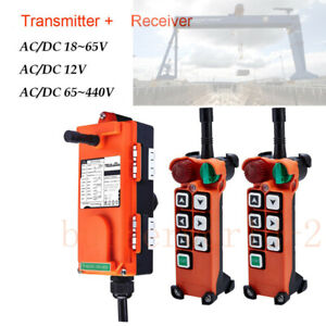 Industrial Wireless Radio Remote Control for Cranes Transmitter&Receiver F21-E2