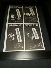 John Fogerty/Talking Heads/Miles Davis Rare Radio Promo Poster Ad Framed