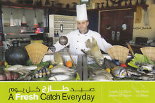 (07309) Postcard A Fresh Catch Every Day Sharjah Coral Beach Resort Sharjah UAE