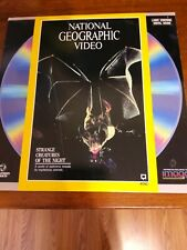 LaserDisc National Geographic: Strange Creatures Of The Night 1989 Pre-owned