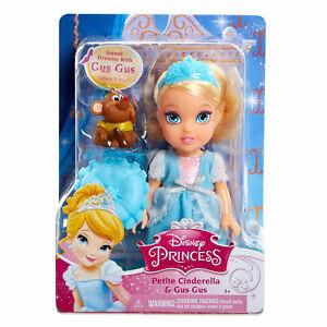 Disney Princess Petite Cinderella Doll with Gus BRAND NEW