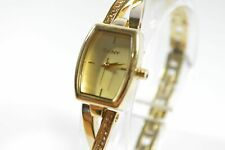 DKNY NY2237 Crosswalk Gold Pearlized Dial Stainless Steel Ladies Watch