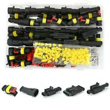 26 Kits 1/2/3/4 Pin Way Super Seal Car Waterproof Electrical Wire Connector Plug