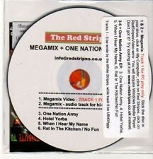 (AY222) The Red Stripes, Megamix + One Nation Ar- DJ CD