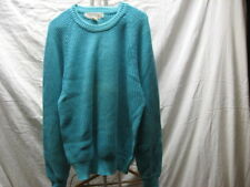 Vintage Di Amitri Men's M Medium Sweater Turquoise Knit