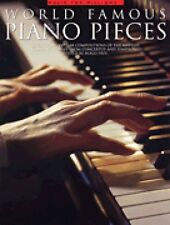 World Famous Piano Pieces Sheet Music Book NEW 014036387