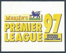 MERLIN 1997-PREMIER LEAGUE 97- #Z-PREMIER LEAGUE 97 OFFICIAL STICKER