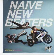 (EB156) Naive New Beaters, Bang Bang To Get Love EP - 2009 DJ CD