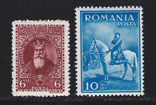 ROUMANIE / ROMANIA N° 438 & 439 * MLH neufs avec charnière, B/TB, cote: 30 €