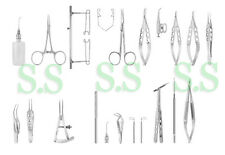 GLAUCOMA SURGERY SET Ophthalmic Surgical Instruments