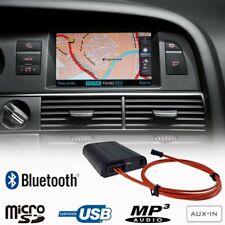 Bluetooth Mains libres A2DP USB Adaptateur pour Audi A6 4F A4 A5 Q7 A8 MMI 2G
