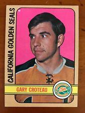 1972/73 Topps Hockey Card #83 Gary Croteau California Golden Seals EX