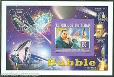 CHAD 2014 HUBBLE DELUXE  SOUVENIR SHEET  IMPERFORATED MINT NH