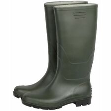 MAURER Stivale stivali verdi in PVC a ginocchio n. 46 suola carrarmato 88690