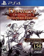 Divinity: Original Sin Enhanced Edition (Sony PlayStation 4, PS4, 2015) Used