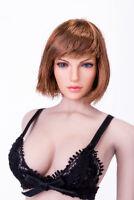 SUPER DUCK 1/6 Female Head Carved Short Hair Model Fit 12'' PH VC TBL Figure