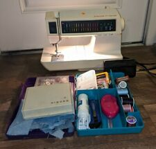 Singer Touch-Tronic 2010 Sewing Machine Memory Machine Vintage With Accessories